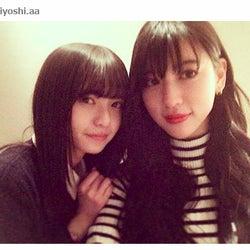 三吉彩花、乃木坂46齋藤飛鳥は「sister」 「最強姉妹」とファン歓喜