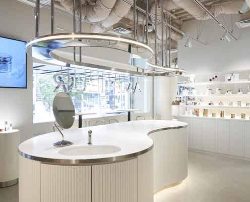 アンプルール初のカフェ併設のフラッグシップショップが銀座にオープン。