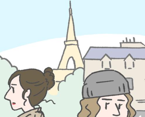 【漫画】国際結婚始めました!「パリジャン直伝!メイクのこだわり」