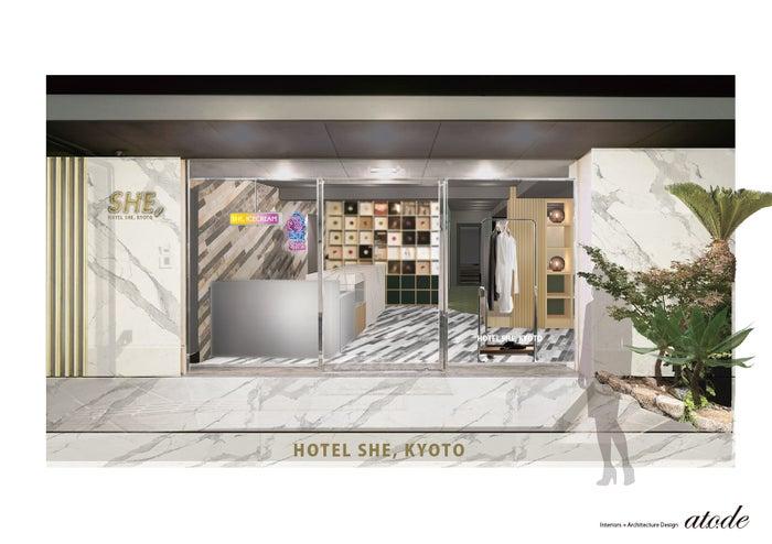 ブティックホテル「HOTEL SHE, KYOTO」がリニューアル アイスクリームパーラー併設/画像提供:株式会社L&G GLOBAL BUSINESS
