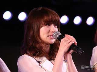 大島優子、大粒の涙「すごく悔しかった」 チームK千秋楽にサプライズ登場