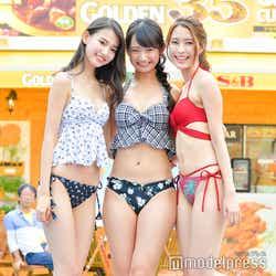 黒木麗奈、相沢菜々子、水野瑛(C)モデルプレス