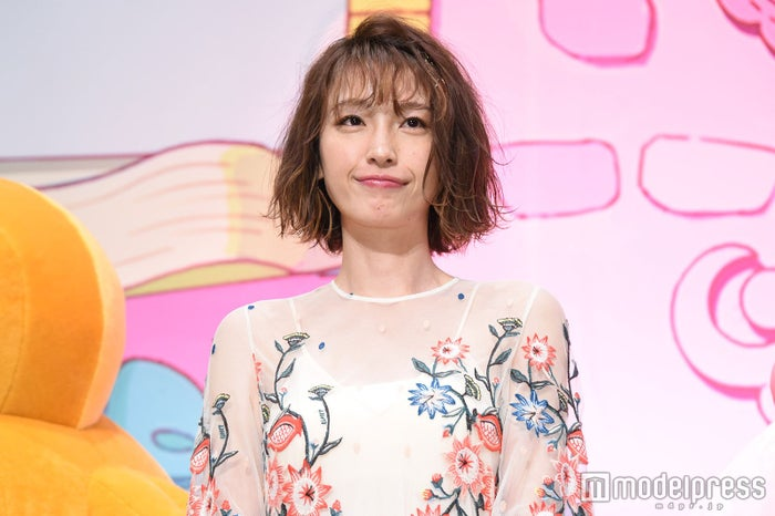 引退発表の安室奈美恵への思いを語った木下優樹菜 (C)モデルプレス