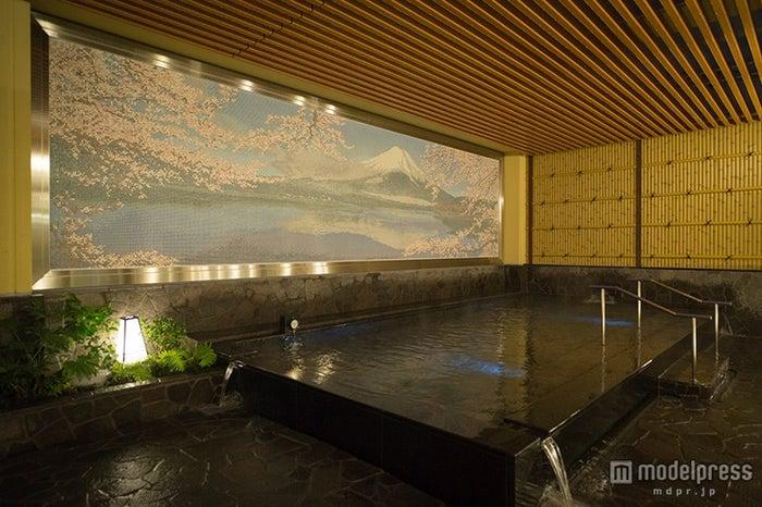 新宿に誕生した「テルマー湯」/露天風呂「神代の湯」/画像提供:シー・エヌ・エス
