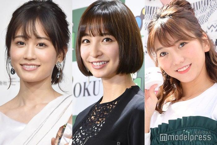 前田敦子、篠田麻里子、高城亜樹(C)モデルプレス