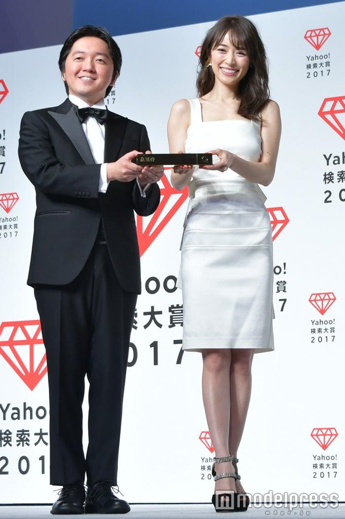「Yahoo!検索大賞2017」発表会にて(C)モデルプレス