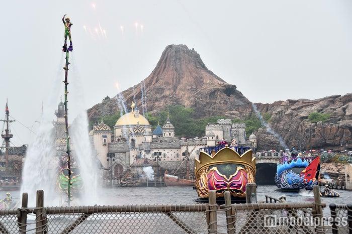 ハーバーショー「ザ・ヴィランズ・ワールド」※雨天バージョン(C)モデルプレス(C)Disney