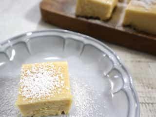 混ぜてレンジでチンするだけ!子供も作れる簡単「新食感チーズケーキ」