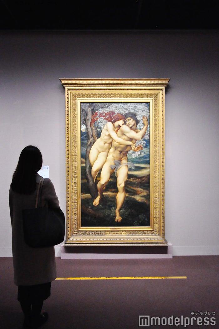 エドワード・バーン=ジョーンズ《赦しの樹》1881-82年、油彩、カンヴァス リヴァプール国立美術館、レディ・リーヴァー・アート・ギャラリー(C)モデルプレス