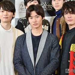 映画『ライチ☆光クラブ』公開収録イベント及び会見に出席した(左から)古川雄輝、野村周平、間宮祥太朗(C)モデルプレス