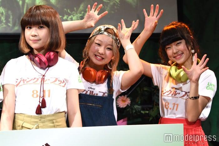 (左から)manaka、麻珠、アサヒ(C)モデルプレス