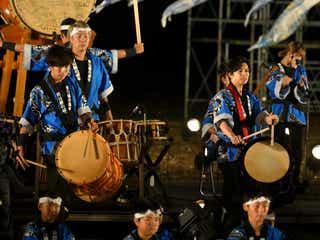 嵐・松本潤「24時間テレビ」魂の和太鼓 宮城に復興の音色響かす