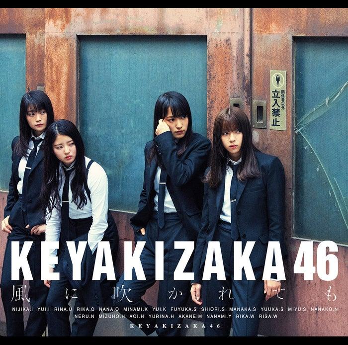 欅坂46・5thシングル『風に吹かれても』初回盤B(提供写真)