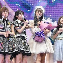AKB48 TeamTP卒業の阿部マリアに同期メンバー涙<セットリスト>