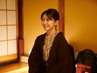 久間田琳加「マリーミー!」アップヘア&浴衣でほっこり温泉コーデ