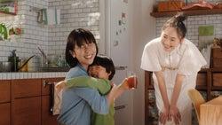 新垣結衣/新テレビCM「登場」編(提供画像)