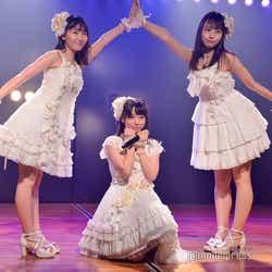 山邊歩夢、久保怜音、大盛真歩/AKB48高橋チームB「シアターの女神」公演(C)モデルプレス