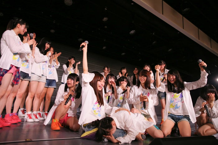 NGT48劇場の様子(C)AKS