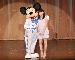 志田未来、ミッキーマウスと共演に「本当に嬉しい」と大感激!