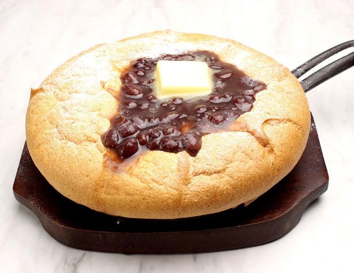 あんバターの 台湾カステラパンケーキ¥980/画像提供:LIFEstyle