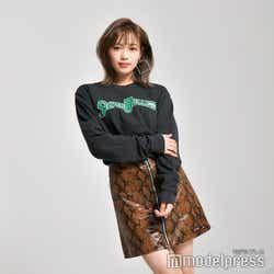 E-girlsの女の子らしいカワイイ妹キャラ。ダンス・パフォーマンスだけでなく役者として演技も行う山口乃々華(C)モデルプレス