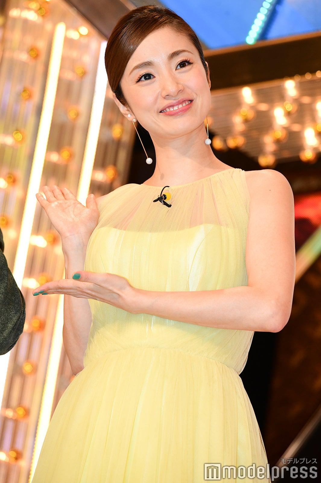 上戸彩、今年も「M,1」での美貌が話題 7月に第2子出産「いくつに
