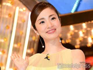 上戸彩、今年も「M-1」での美貌が話題 7月に第2子出産「いくつになっても可愛い」