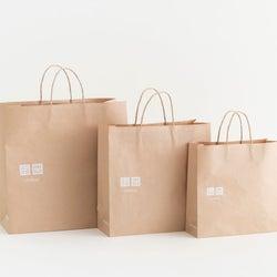 国内ユニクロ・GU、ショッピングバッグを有料化