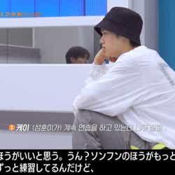 ジェイとソンフンを替えるべきか悩むケイ(C) AbemaTV, Inc.