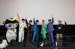 (左から)杉野遥亮、横浜流星、松坂桃李、菅田将暉、成田凌、兼重淳監督(提供写真)