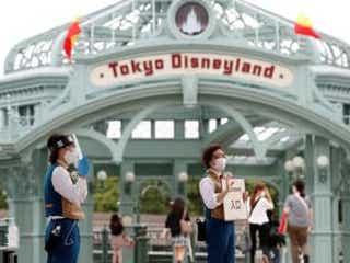4月1―18日の東京ディズニーランドの閉園は午後8時、シーは午後9時