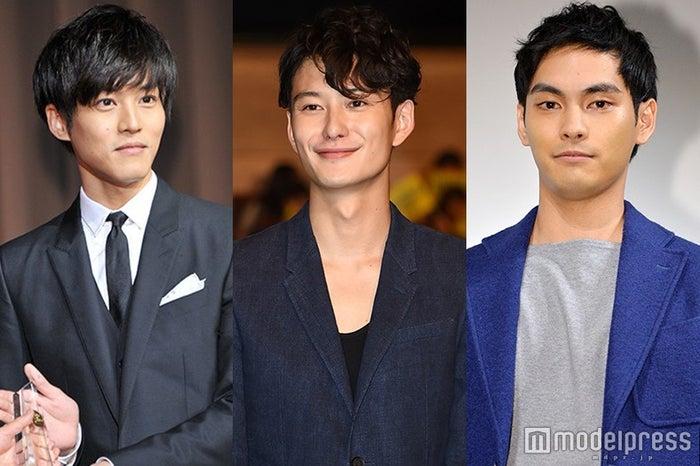 (左から)松坂桃李、岡田将生、柳楽優弥(C)モデルプレス