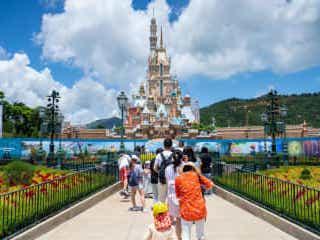 香港ディズニー、再び休業へ 地元政府が要請、コロナ感染者増