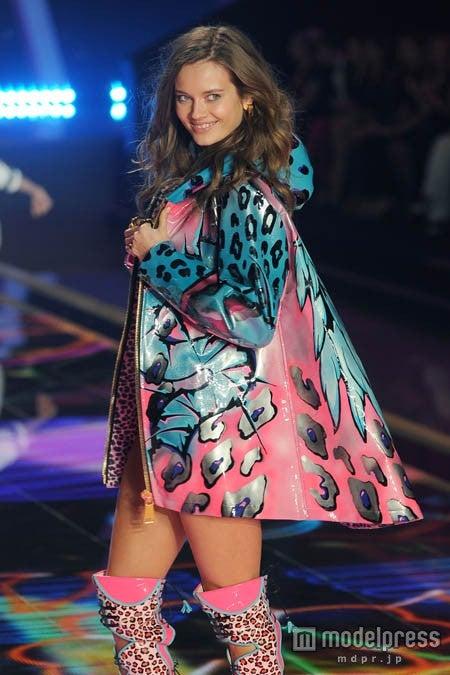 「2014 Victoria's Secret Fashion Show」でのジャック・モニカ・ヤガチャク。【モデルプレス】Newscom/Zeta Image