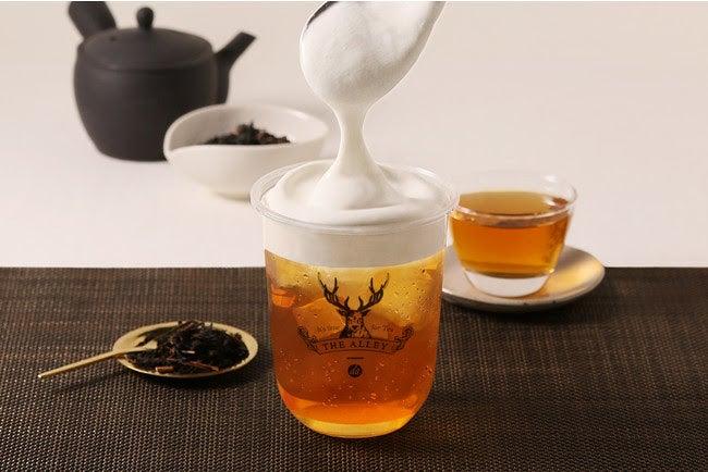 ミルクフォーム 彼岸紅茶 Mサイズ COLD・MILD ¥450/画像提供:ポトマック