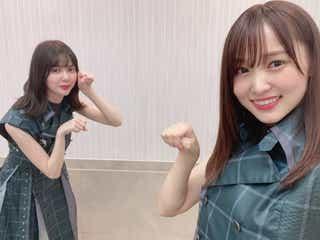 櫻坂46菅井友香、卒業発表の松平璃子に本音「これからがすごく楽しみな子だった」