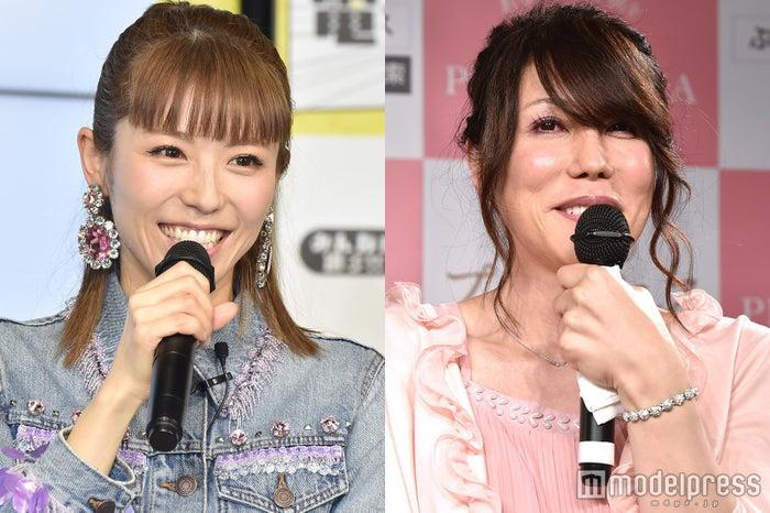 若槻千夏(左)とKABA.ちゃん(右)/KABA.ちゃん、写真は性別適合手術後の2016年時(C)モデルプレス