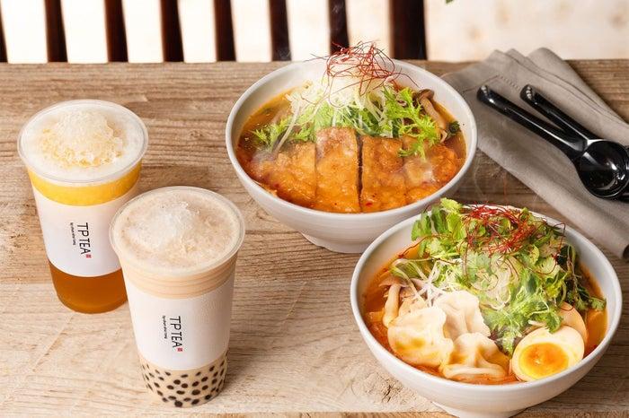 野菜たっぷりの春雨ヌードル「サラダ麻辣湯」600円~700円/画像提供:オアシスティースタンド
