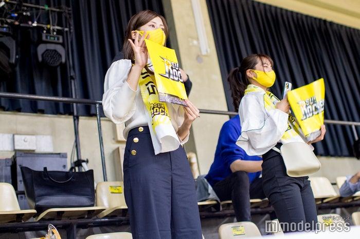 初心者でも応援しやすいサンロッカーズ渋谷 (C)モデルプレス
