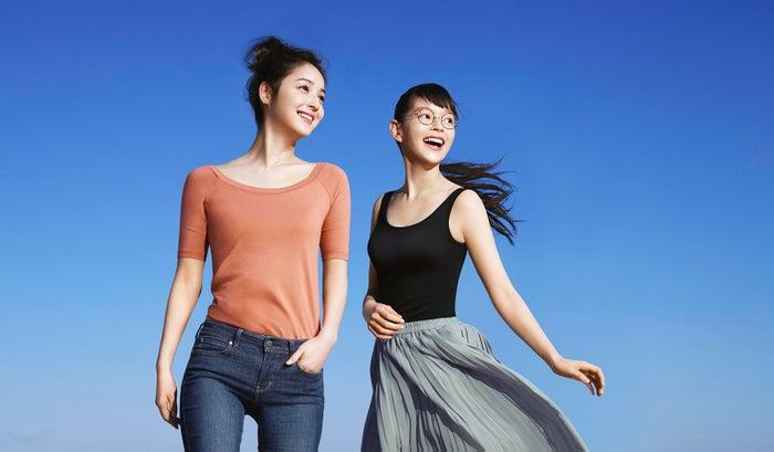 左から:佐々木希、夏子/新CMより(画像提供:所属事務所)