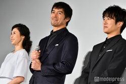 松嶋菜々子、阿部寛、溝端淳平 (C)モデルプレス