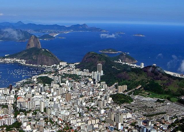 コルコバードの丘から見たリオデジャネイロの街/Corcovado by SlapBcn