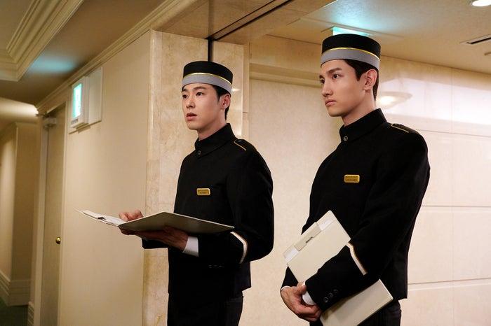 ユンホ、チャンミン(C)日本テレビ