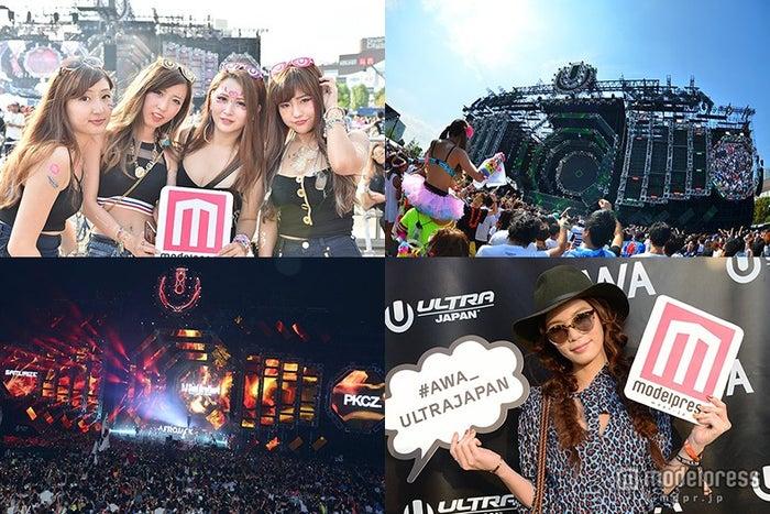 「ULTRA JAPAN」初日から大盛況!オシャレガール集結・Afrojackがサプライズ演出<1日目レポ>【モデルプレス】
