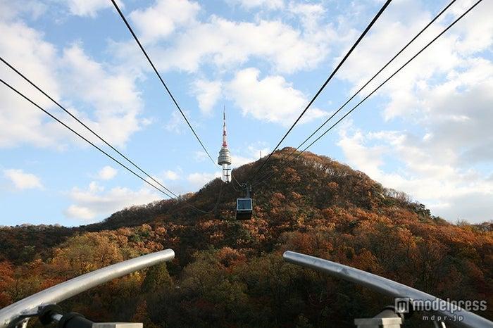南山ケーブルカー/画像提供:韓国観光公社