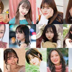 「MISS OF MISS CAMPUS QUEEN CONTEST 2021」一部出場者(提供写真)