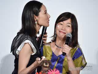 吉田羊が公開キス 理想のキスも語る<ラブ×ドック>