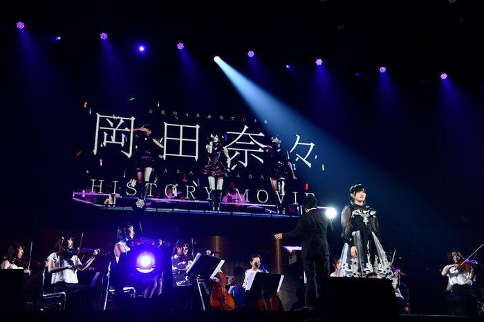 岡田奈々「AKB48グループ感謝祭~ランクインコンサート~」(C)AKS