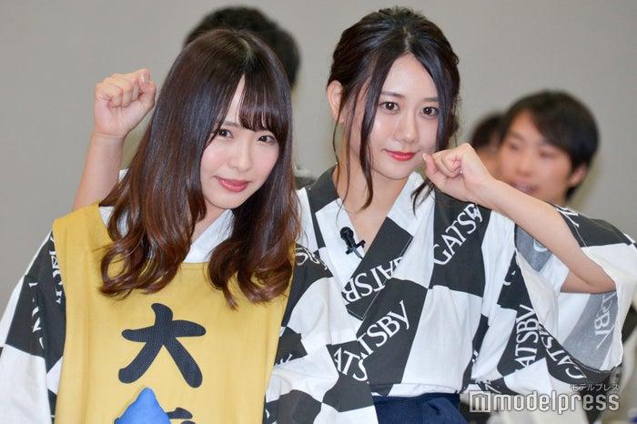松村香織、古畑奈和 (C)モデルプレス