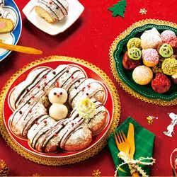 モデルプレス - ミスド、最大級のビッグドーナツ登場 クリスマスフレーバーも続々